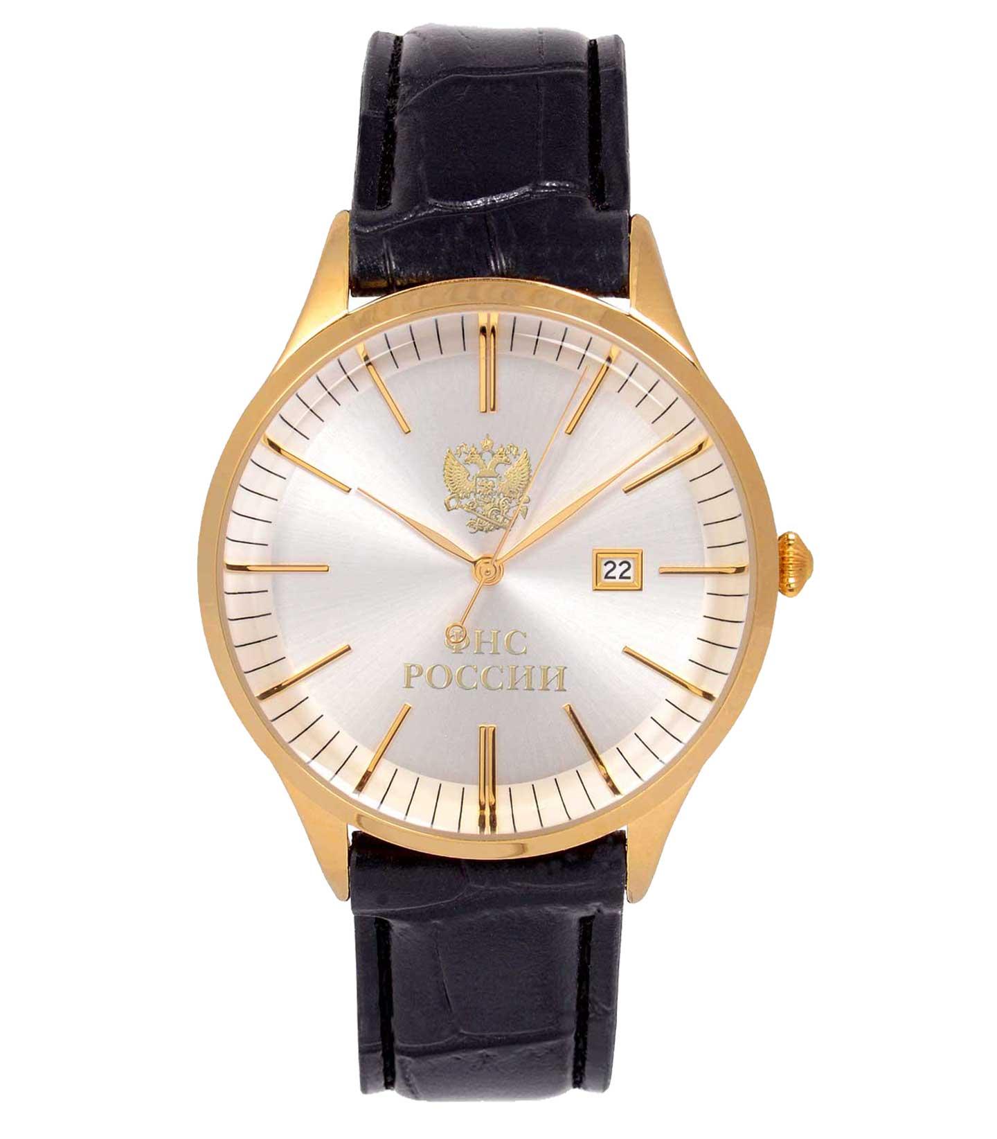 Юбилейные часы ФНС РОССИИ · Часы с логотипом ФНС РОССИИ (мужские